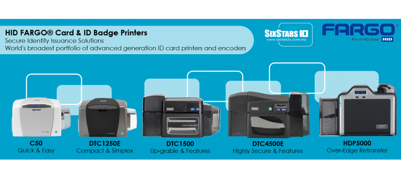 HID FARGO ID CARD PRINTER SERIES