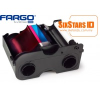 FARGO COLOUR RIBBON - YMCKO # 45500