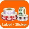 Label / Cartoon Name Sticker